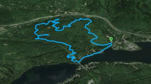 Lake Samish gambol 1.21.15