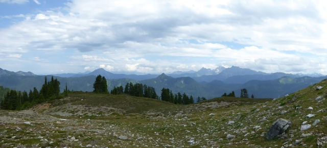 pano on the way up