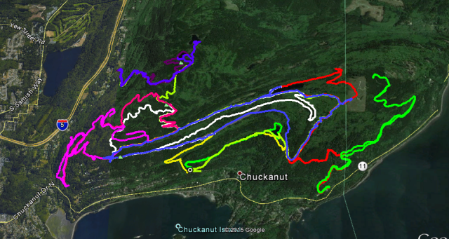 chuck trails partial