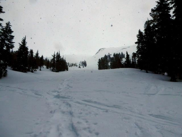 slope in snow