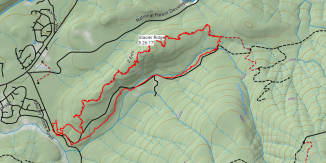 Glacier ridge caltopo