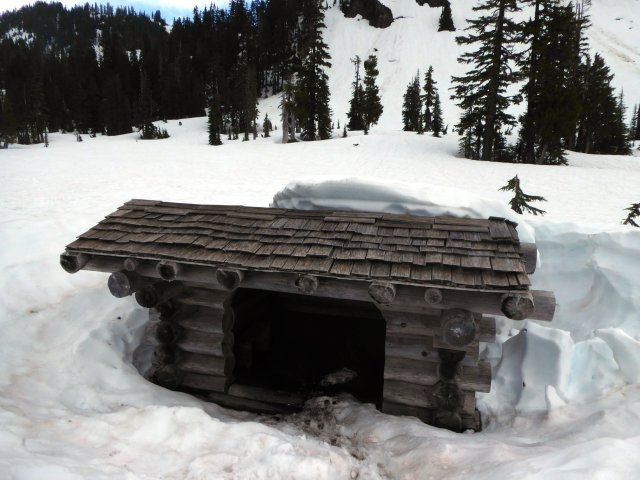 Mazama Meadow shelter